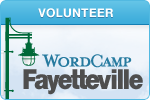 WordCamp Fayetteville 2012 Volunteer
