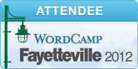 WordCamp Fayetteville 2012 Attendee